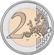 2 Euro (Raul Brandão) -  reverse
