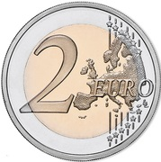 2 Euro (150 Years of Public Security) -  reverse