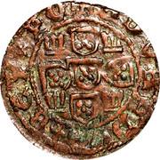 "½ Real Preto - Duarte I (""P"", Porto Mint) – reverse"