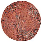 ½ Real - Manuel I (Lisboa mint) – obverse