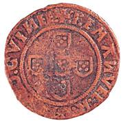 ½ Real - Manuel I (Lisboa mint) – reverse