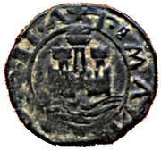 Ceitil - Manuel I (Group 3 - Castle with high wall) – obverse