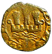 Ceitil - João III (Group 6 - Castle with low wall, with or without door, all towers far from the wall) – obverse