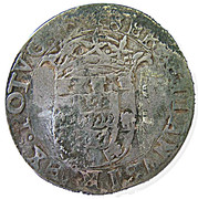 120 Réis - João IV (Countermark issue) – obverse