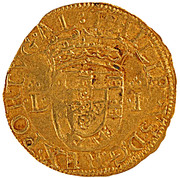 Cruzado - Filipe I – obverse