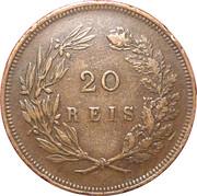 20 Réis - Carlos I -  reverse