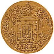 ½ Moeda - Pedro Prince Regent – obverse