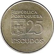 25 Escudos -  obverse