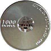 1000 Escudos (2004 UEFA Euro; Proof issue) – obverse