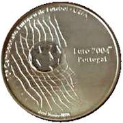 1000 Escudos (2004 UEFA Euro; Proof issue) – reverse