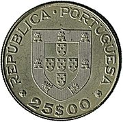 25 Escudos (International Year of Disabled Persons) -  obverse