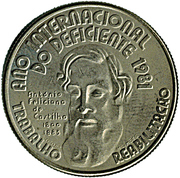 25 Escudos (International Year of Disabled Persons) -  reverse