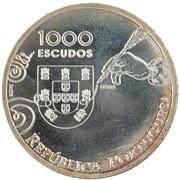 1000 Escudos (Diogo de Couto; Pattern) – obverse