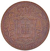 2000 Reis - Luiz I (Pattern) – reverse