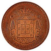 10 000 Reis - Luiz I (Pattern) – reverse