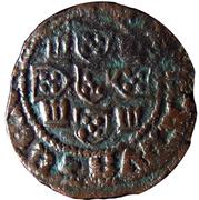 ½ Real Preto - Duarte I (Lisboa mint) – reverse