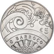 5 Euro (The Baroque Age) -  reverse