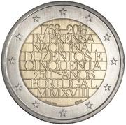 2 Euro (Imprensa Nacional - National Mint) -  obverse