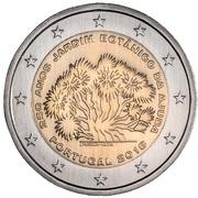 2 Euro (Botanical garden of Ajuda) -  obverse