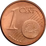 1 Euro Cent – reverse