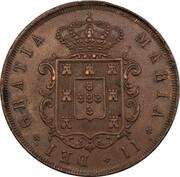 20 Réis - Maria II -  obverse