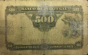 500 Reis – reverse
