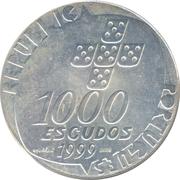 1000 Escudos (Carnation Revolution) – obverse