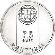 7½ Euro (Gonçalo Byrne; Silver) -  obverse