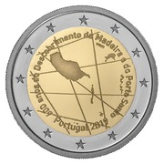 2 Euro (600th Anniversary of the discovery of the Madeira archipelago) -  obverse