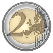 2 Euro (600th Anniversary of the discovery of the Madeira archipelago) -  reverse