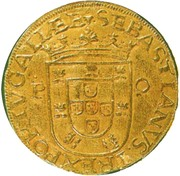 500 Reais - Sebastião I (Porto mint) – obverse