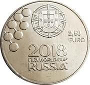 2½ Euro (FIFA World Cup Russia 2018) -  reverse