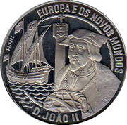 2½ ECU (João II) -  obverse