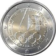 2 Euro (Tokyo Olympic Games) -  obverse