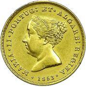 2500 Reis - Maria II – obverse