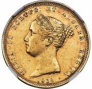 5000 Reis - Maria II – obverse