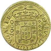Moeda - Pedro Prince Regent – obverse