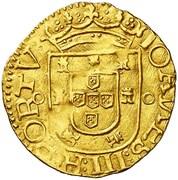 ½ São Vicente - João III (Porto mint) – obverse