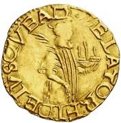 ½ São Vicente - João III (Porto mint) – reverse