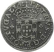 Tostão - Pedro Prince Regent -  obverse