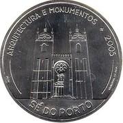 10 Euro (Cathedral of Porto) – reverse