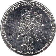 10 Euro (Ibero-America - Olympic Games) – reverse