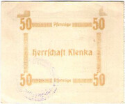 50 Pfennig (Klenka) – reverse