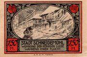 1.50 Mark (Schneidemühl; Sparkasse) – reverse