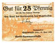 25 Pfennig (Netzekreis) – obverse