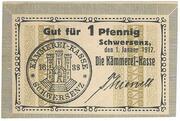 1 Pfennig (Schwersenz) -  obverse