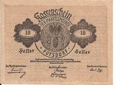 10 Heller (Poysdorf) – obverse