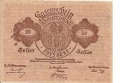 20 Heller (Poysdorf) – obverse
