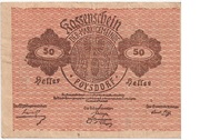 50 Heller (Poysdorf) – obverse