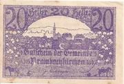20 Heller (Prambachkirchen) -  obverse